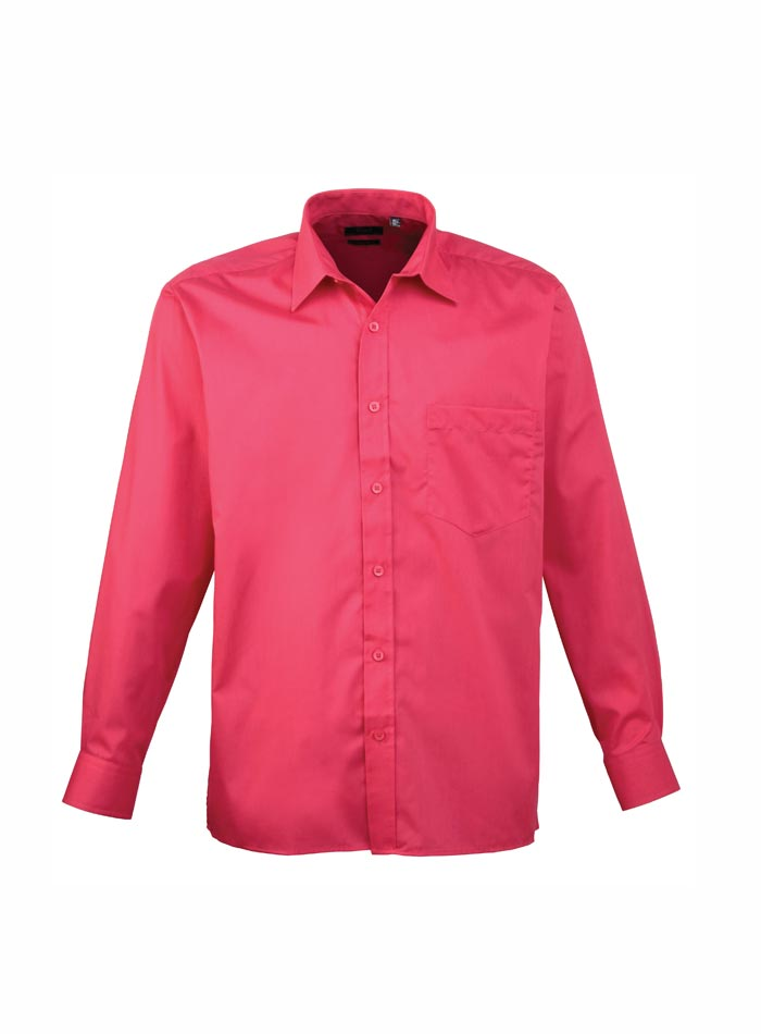 Pánská košile Premier - Sytě růžová 38
