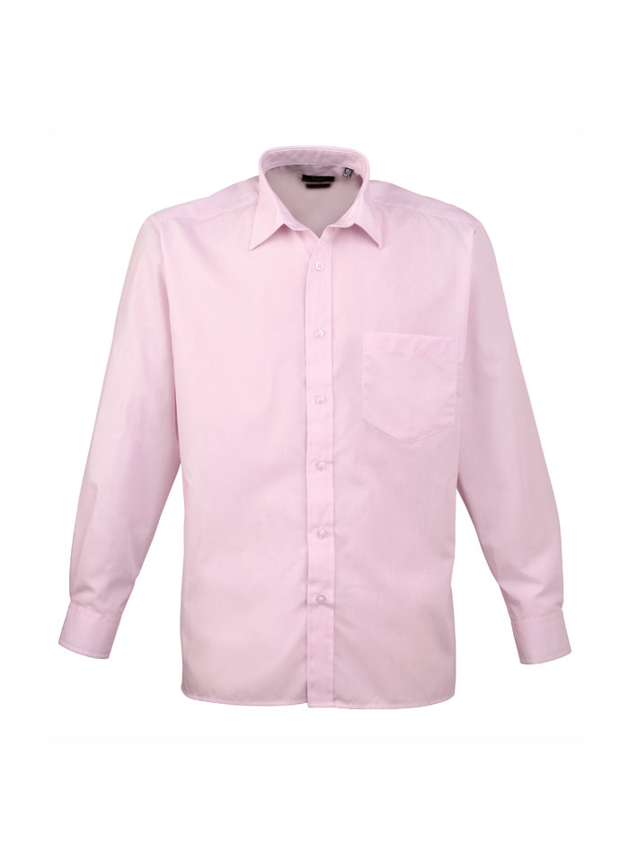 Pánská košile Premier - Růžová 38