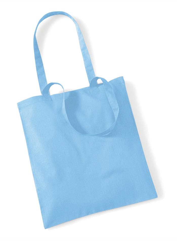 Plátěná taška - Blankytně modrá univerzal