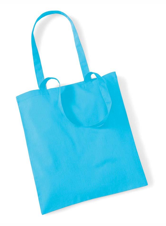 Plátěná taška - modrá univerzal
