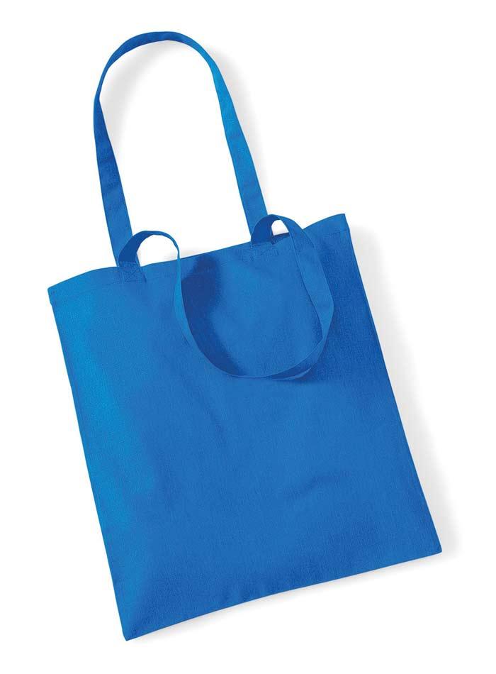 Plátěná taška - Safírově modrá univerzal