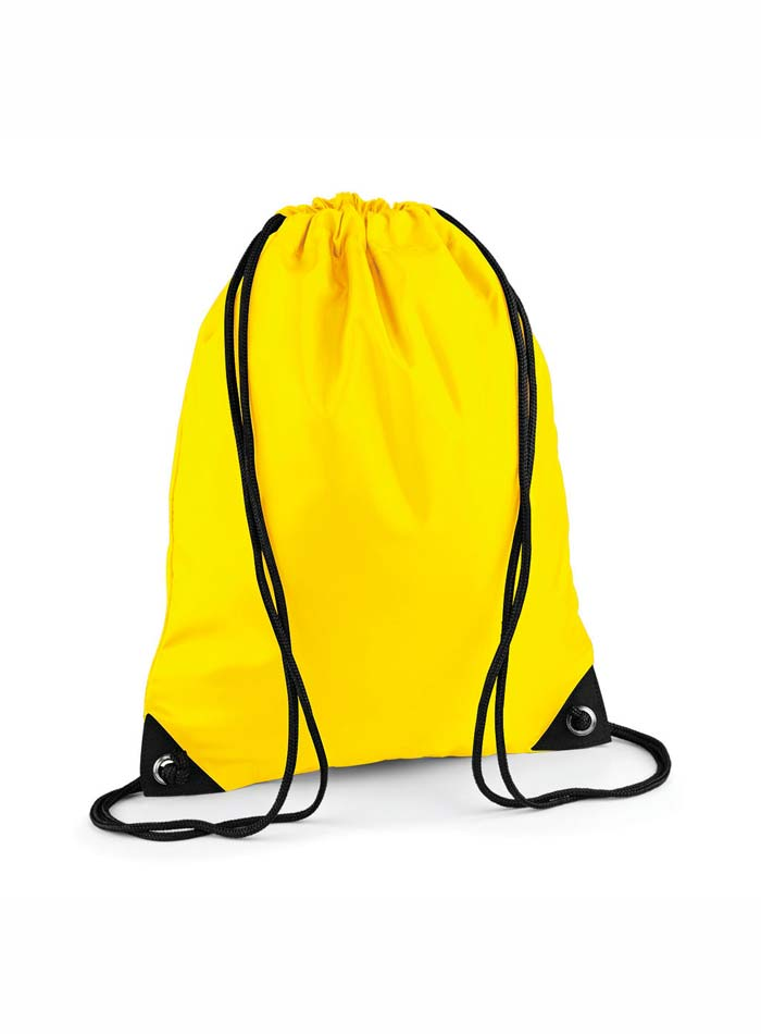 Vak na záda Gymsack - Žlutá univerzal