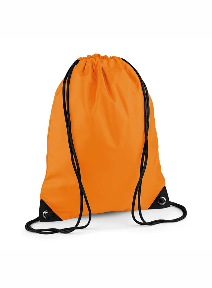 Vak na záda Gymsack - Zářivá oranžová univerzal