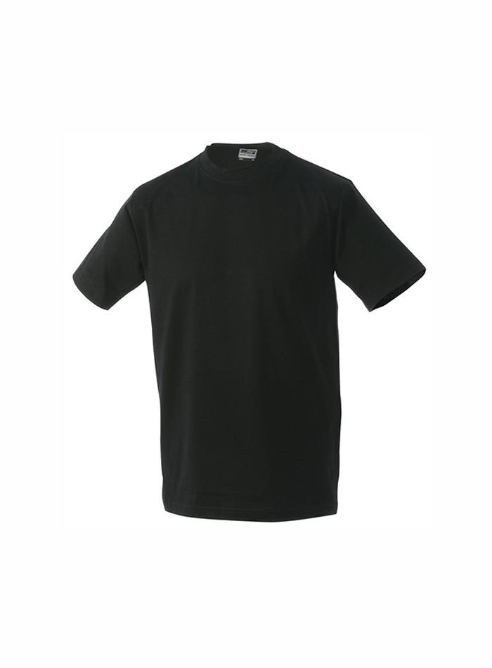 Kvalitní tričko James & Nicholson - černá M