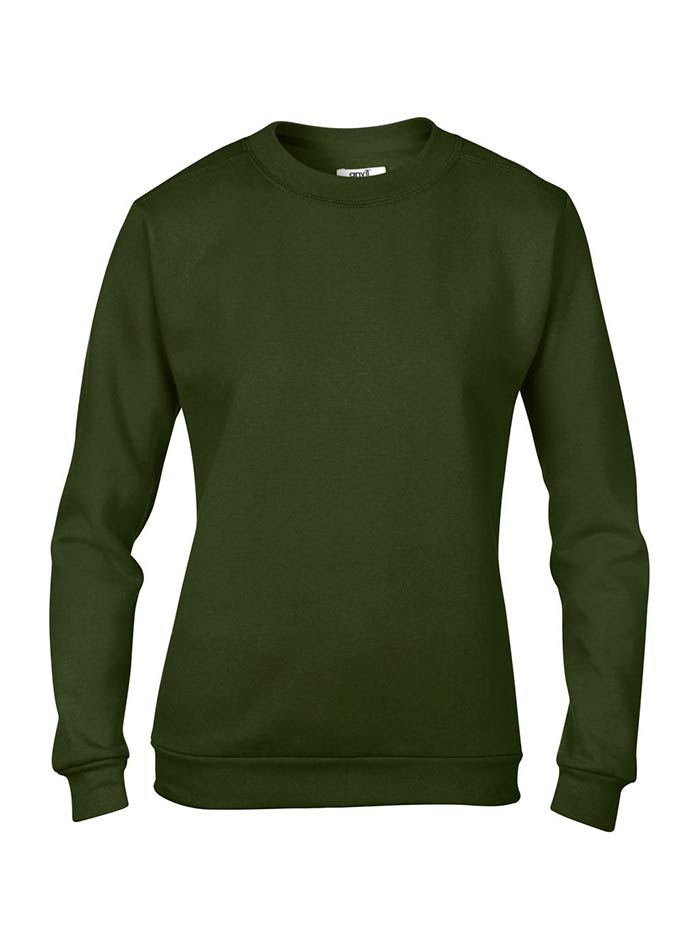 Basic mikina - Vojenská zelená L