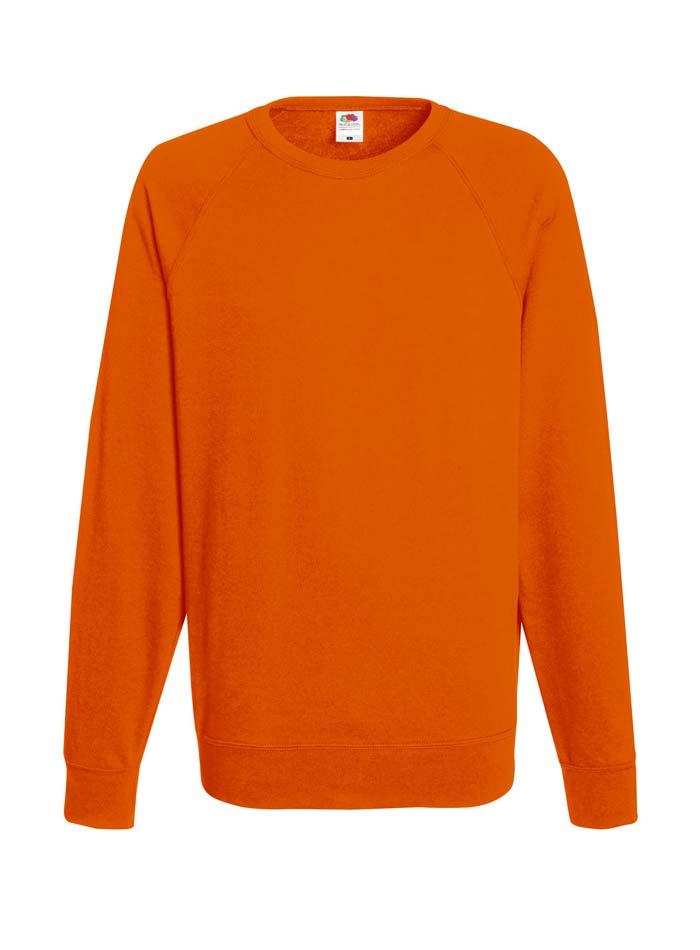 Lehká mikina - Oranžová XXL