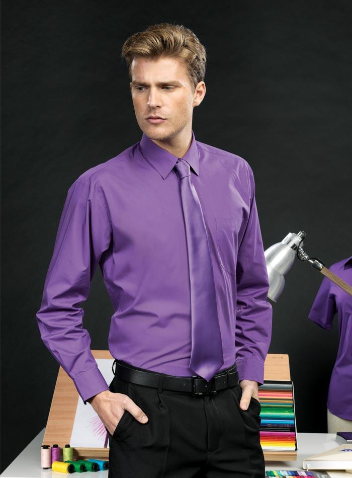 Pánská košile Premier - fialová 37