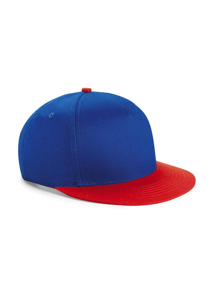 Dvoubarevná unisex kšiltovka - Modrá a červená univerzal