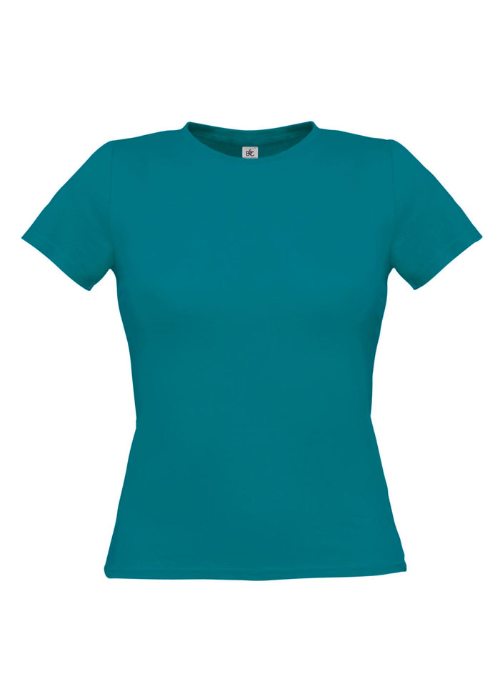 Tričko na tělo - Modrozelená XS