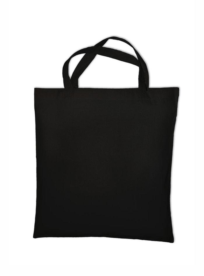 Nákupní bavlněná taška - černá univerzal