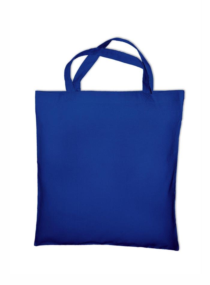 Nákupní bavlněná taška - Královská modrá univerzal