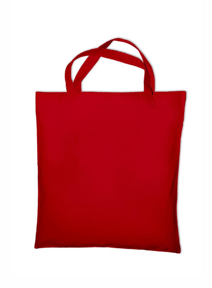 Nákupní bavlněná taška - Červená univerzal