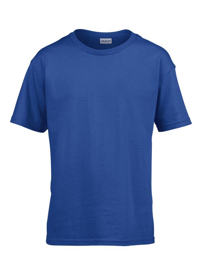 Tričko Softstyle - Královská modrá XS
