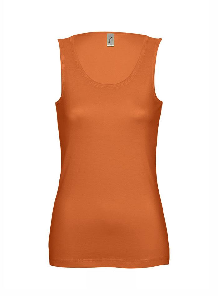 Pohodlné tílko Jane - Oranžová M