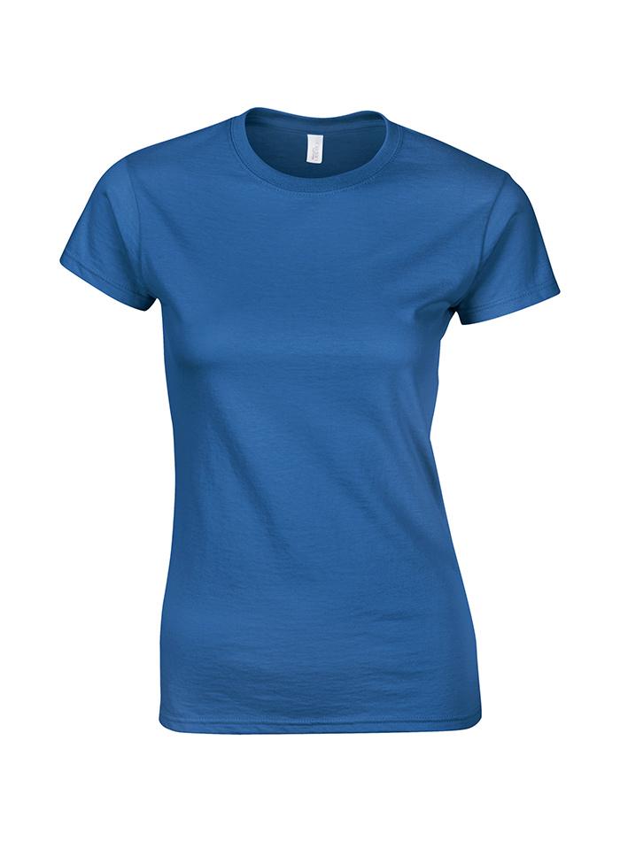 Přiléhavé tričko - Královská modrá XXL