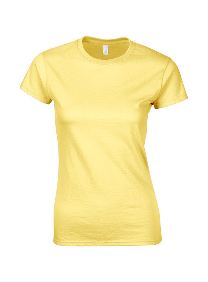 Přiléhavé tričko - Žlutá L