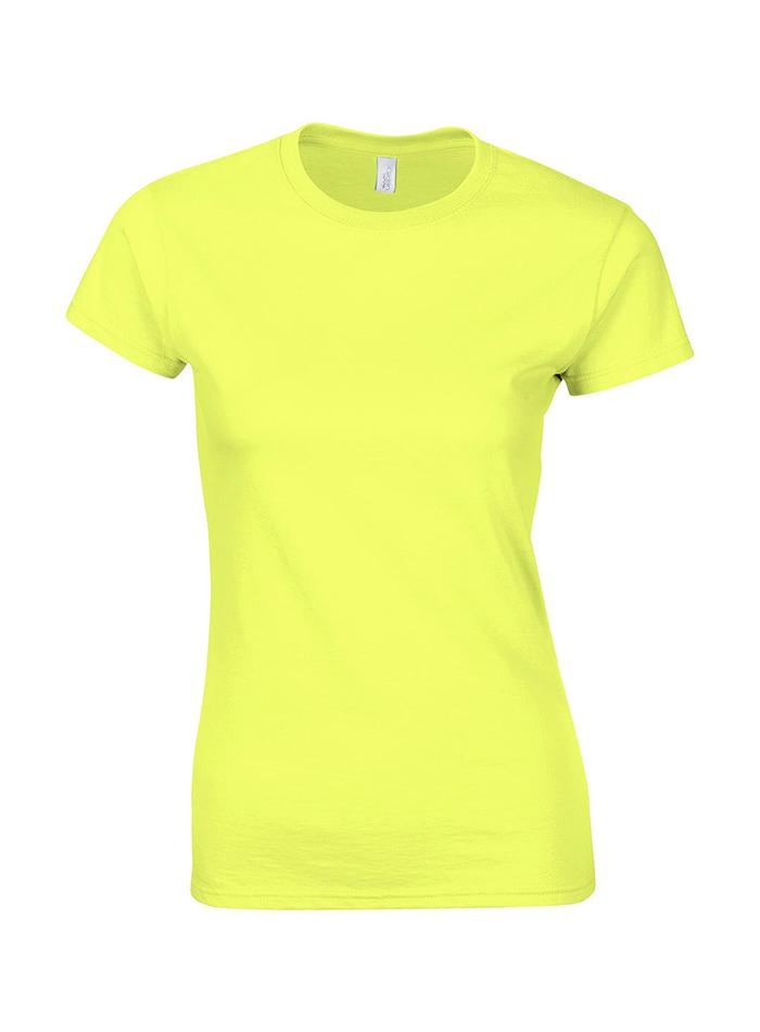 Přiléhavé tričko - Světle žlutá L
