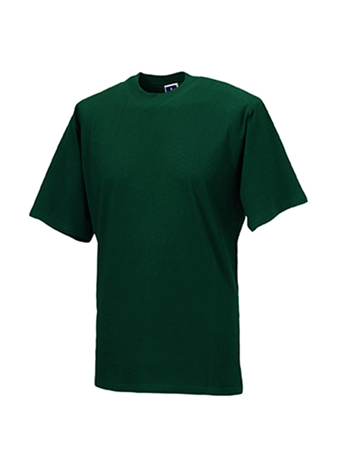 Tričko Jerzees - Lahvově zelená XS