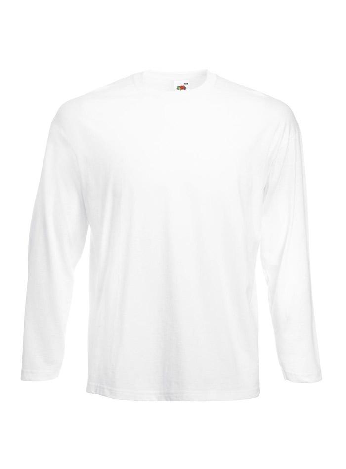 Tričko s dlouhým rukávem - Bílá L