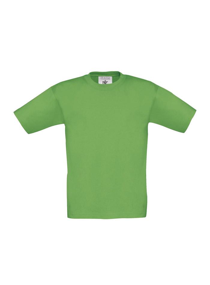 Tričko B&C - Jarní zelená 104 (3-4)