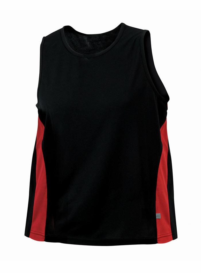 Sportovní tílko - Černá a červená 3XL