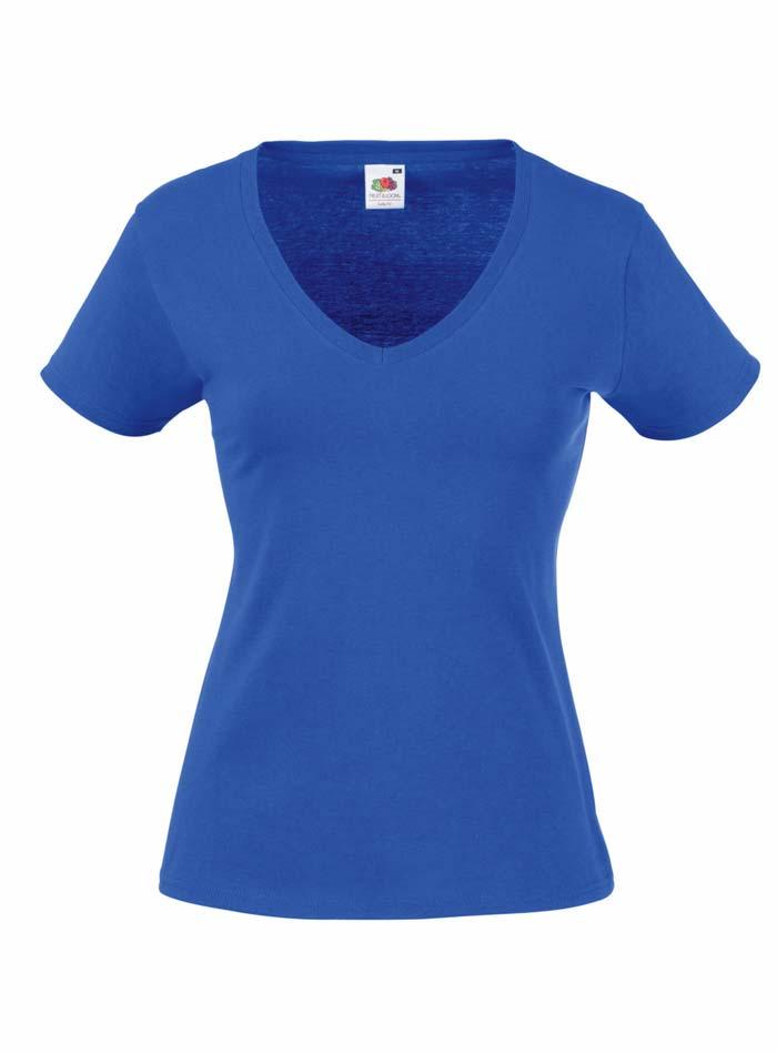 Tričko Lady-Fit - Královská modrá XXL