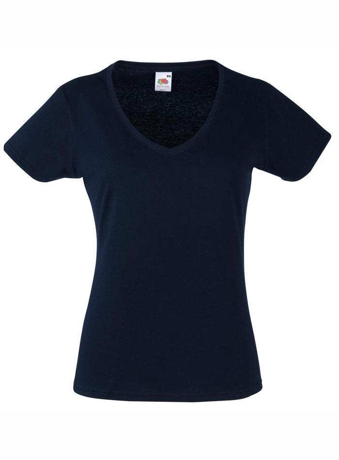 Tričko Lady-Fit - Temně modrá XS