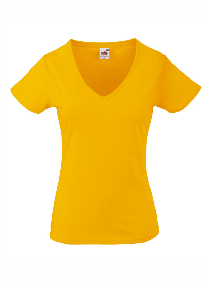 Tričko Lady-Fit - Slunečnicová XS