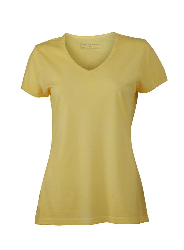 Tričko Gipsy - Světle žlutá S