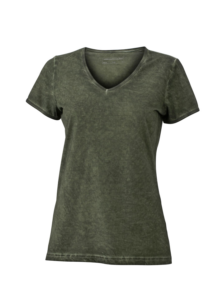 Tričko Gipsy - Olivově zelená XL