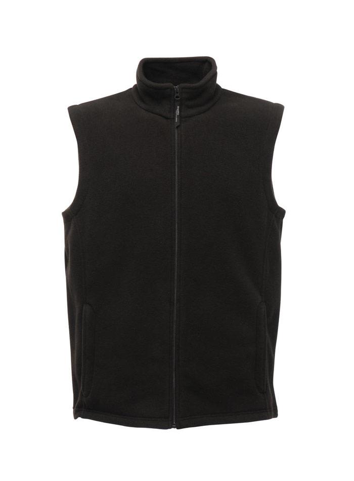 Pánská fleecová vesta - černá S