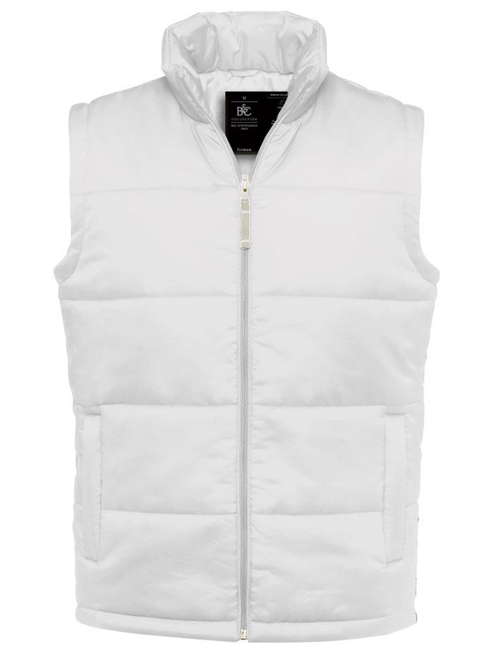 Prošívaná vesta - Bílá S