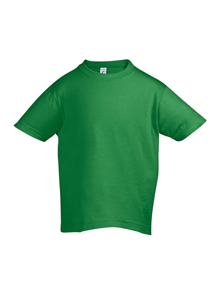 Tričko Sols Klasik - Zelená 128 (7-8)
