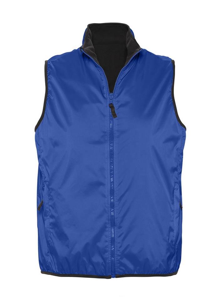 Unisex oboustranná vesta - Královská modrá XS