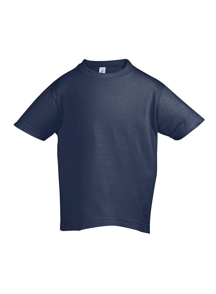 Tričko Sols Klasik - Džínově modrá 128 (7-8)