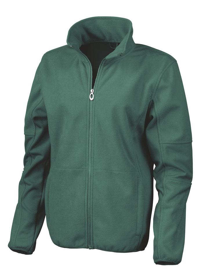 Softshell bunda - Lesní zelená XS