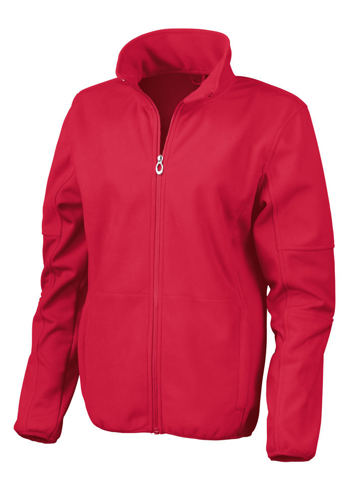 Softshell bunda - Červená XS