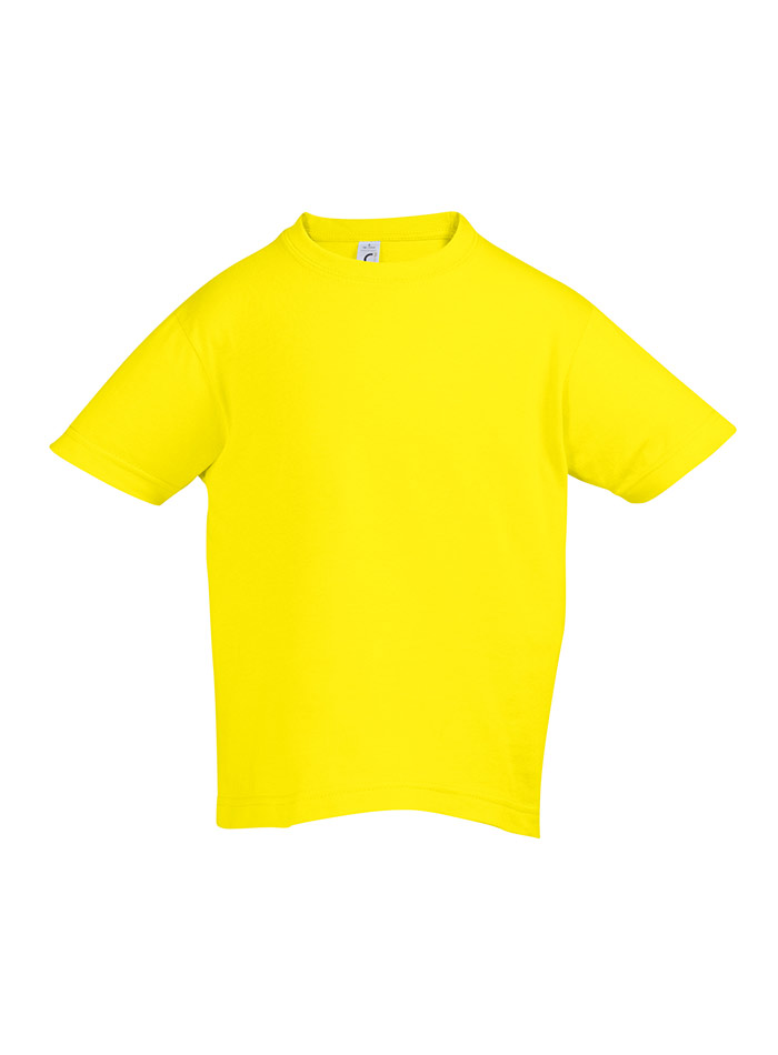 Tričko Sols Klasik - Žlutá 128 (7-8)