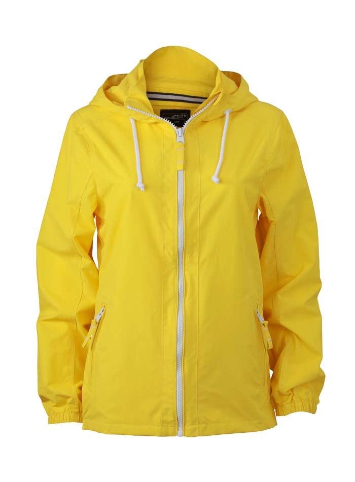 Nepromokavá bunda Sailing - Žlutá S