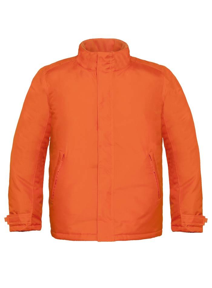Zimní bunda Parka - Oranžová S