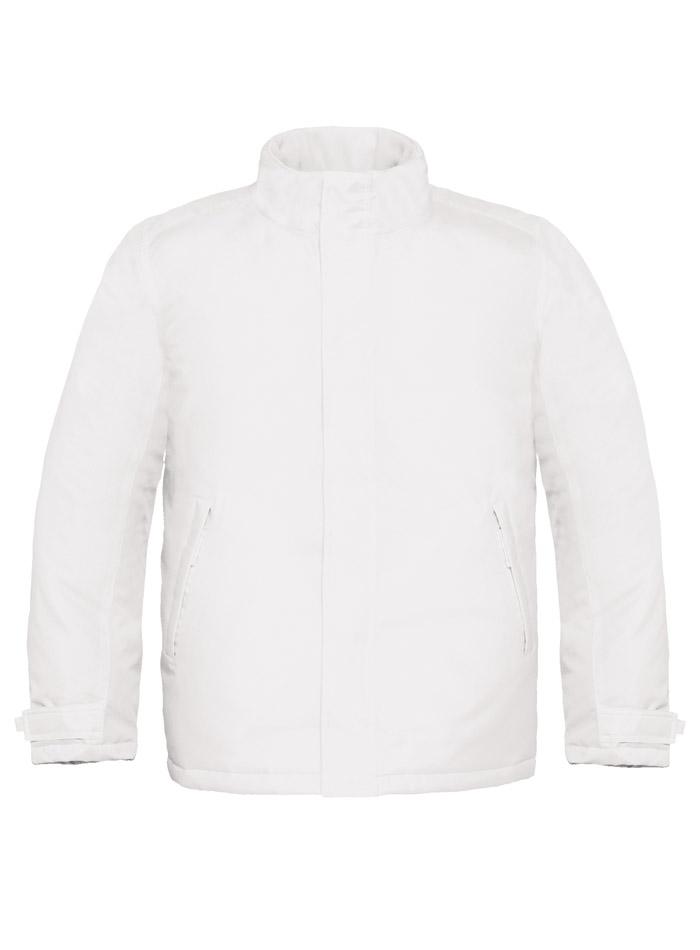 Zimní bunda Parka - bílá S