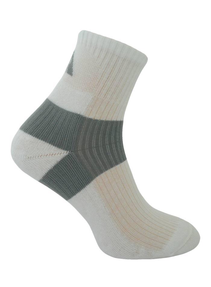 Kvalitní ponožky Lex - Bílá 44-46