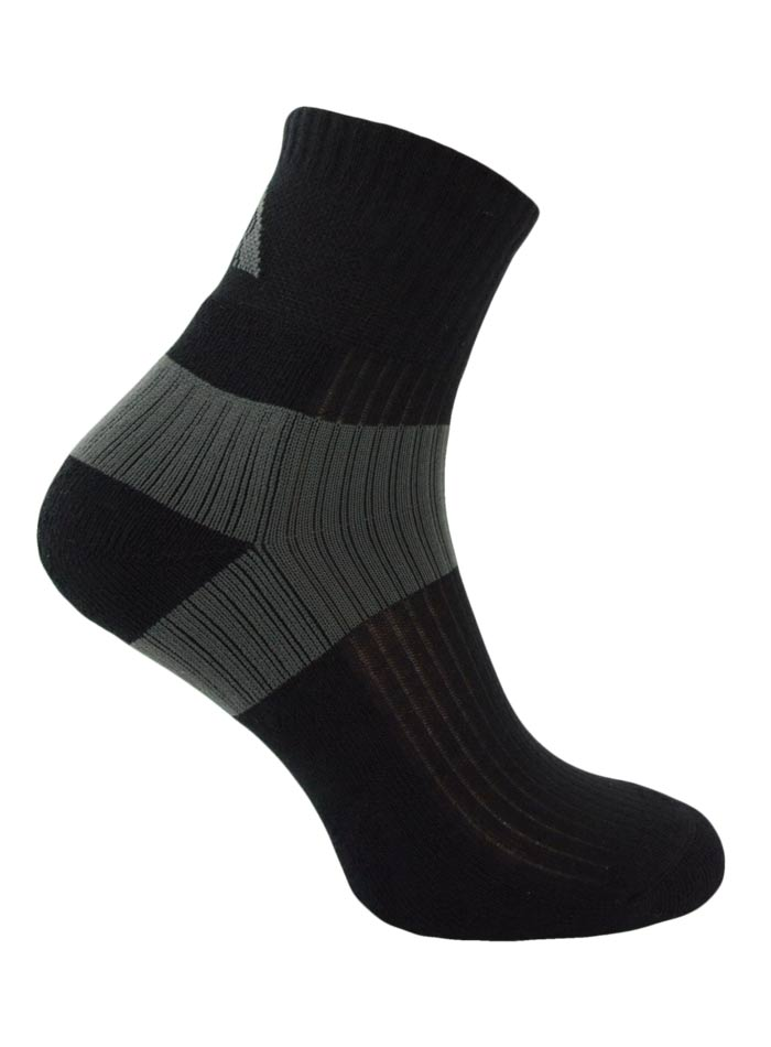 Kvalitní ponožky Lex - černá 44-46