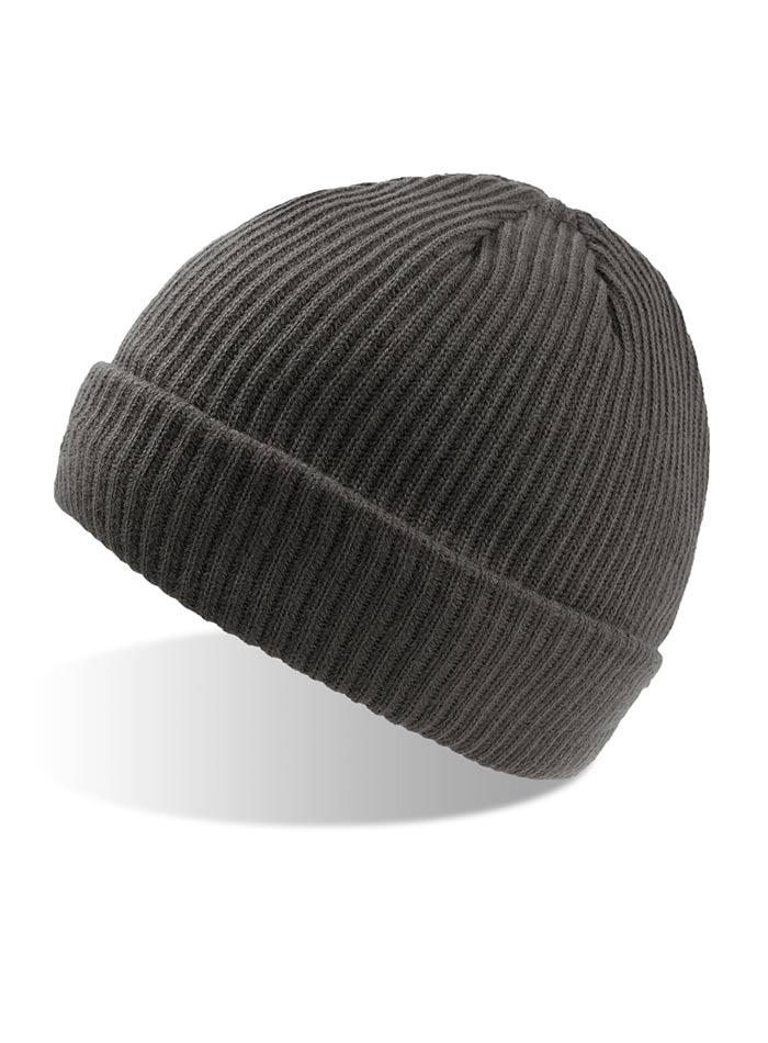 Zimní čepice Bill - Tmavě šedá univerzal