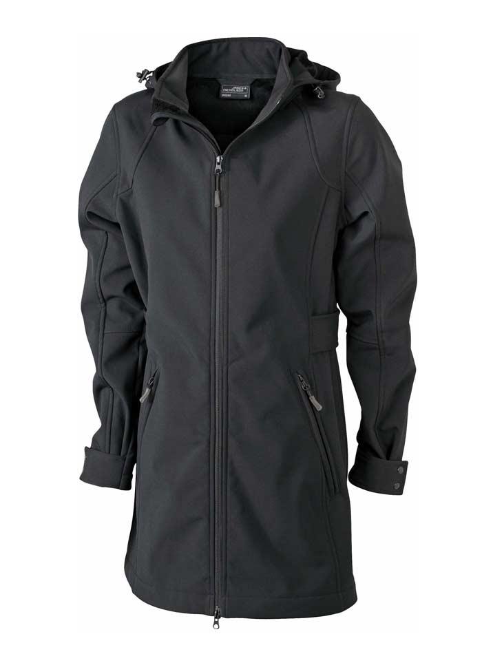Softshellový kabát - Černá XL