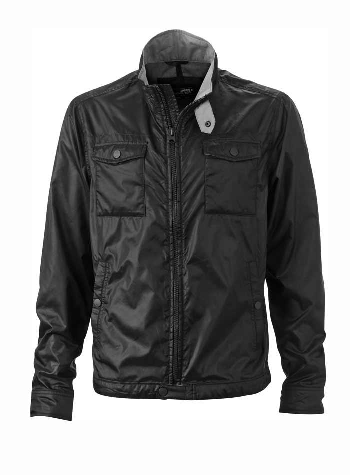 Pánská bunda Leisure - černá M