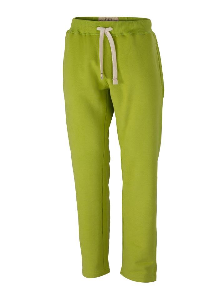 Pánské sportovní tepláky - Zelená XL