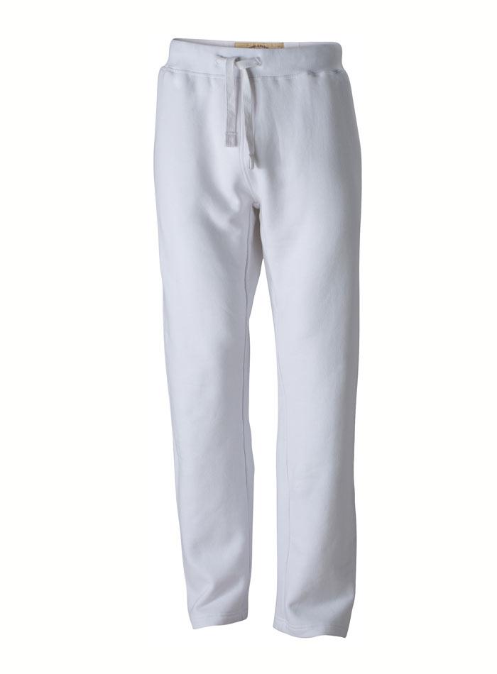 Pánské sportovní tepláky - Bílá XL