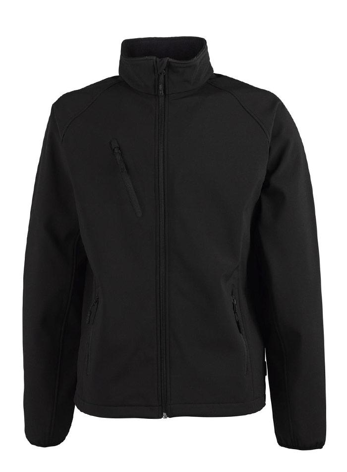 Pánská bunda Softshell Performance - Černá 5XL