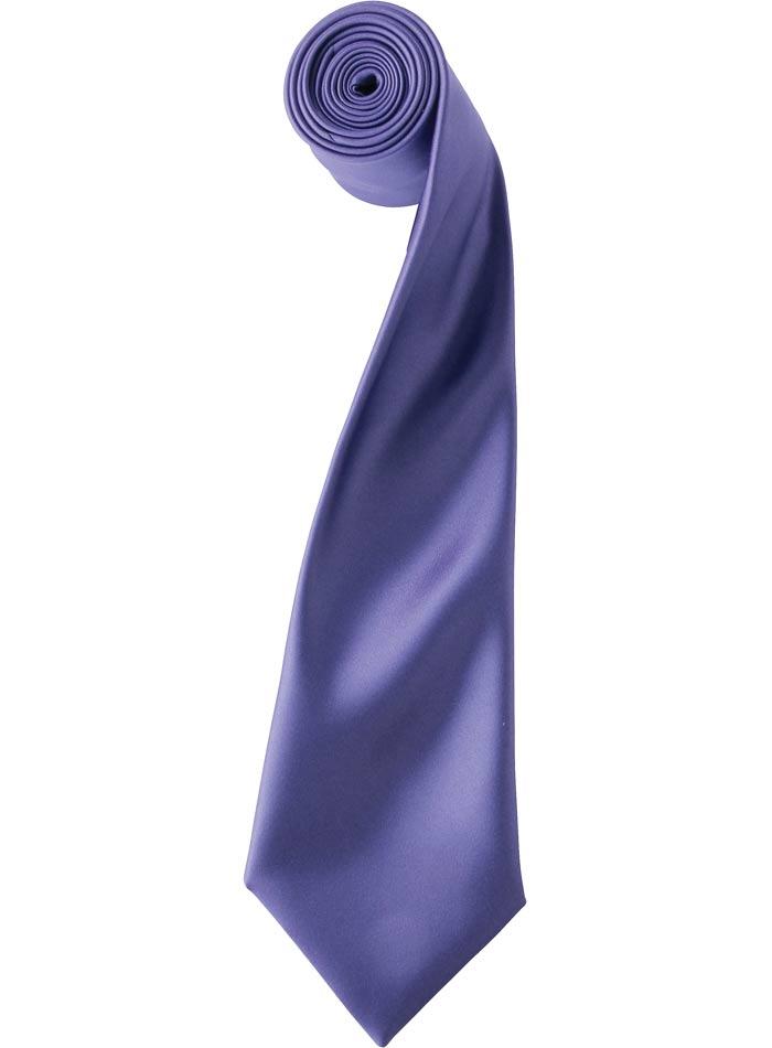 Kravata - fialová univerzal